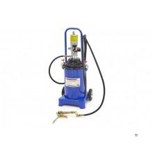 HBM 12 Liter Mobiele Pneumatische Vetpomp 300-400 Bar Persdruk