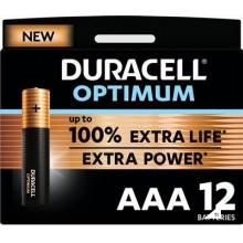 Duracell Alkaline Optimum AAA 12st.