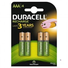 Duracell Genopladelige Batterier Plus AAA 4stk.