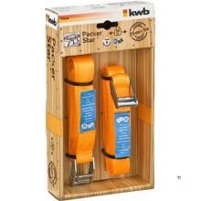 KWB Tensioning Strap M, Clamping Lock 5.0X25