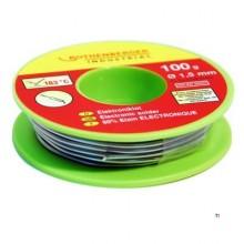 Rothenberger Electronics solder, 1,5mm, 30g