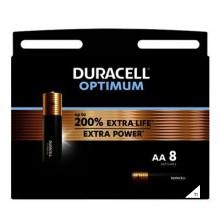 Duracell Alkaline Optimum AA 8st.