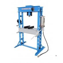 HBM 45 ton hydraulic and pneumatic frame press / workshop press