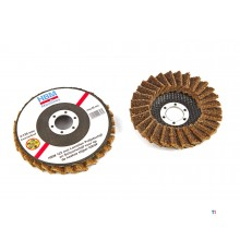 HBM 115 mm lamella polishing disc and sanding disc for the angle grinder coarse