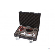 HBM professional brake line flaring set with pipe cutter, pipe cutter
