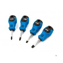 HBM 4-piece stubbie screwdriver set