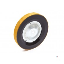 HBM 200 mm. leather grinding disc for the HBM tool grinder