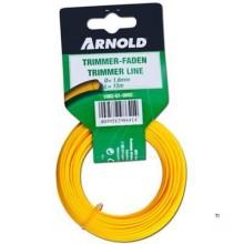 Arnold Trimmerdraad copolymer 1.6mmx15m rond uni.