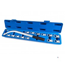 HBM 15-piece V-belt wrench set
