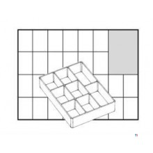 Caja de empotrar Raaco 55 A78, suelta