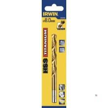 Taladro Irwin HSS Titanio DIN 338 4.0x75mm x 1 pieza