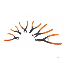 Beta circlip pliers inside and outside with 90 ° bent tips
