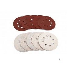 HBM 150 mm. Grinding wheel with velcro and holes
