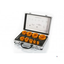 HBM 13 Piece Bi-Metal Hole Saw Set