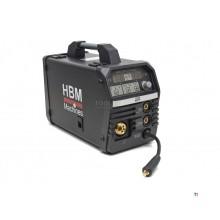 HBM 200 CI Synergic Mig -svetsomvandlare med digital display och IGBT -teknik