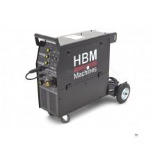 HBM MIG250 Professioneel Lasapparaat met Digitaal Display en IGBT Technologie
