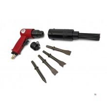 HBM 2 i 1 pneumatisk nåleskaler og pneumatisk mejselhammer, hammer