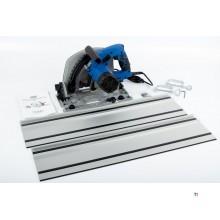 HBM 190 mm Professional 1400 Watt Plunge Saw, Ruler Saw with 2 x 700 mm Ruler