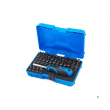 HBM 45-piece 25 mm mini bit set with bit holder