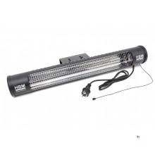 HBM 1200 Watt terrassevarmer, terrassevarmer med 2 varme niveauer