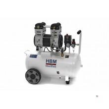 HBM 50 Liter 2 PK Professionele Low Noise Compressor