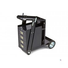 HBM welding trolley with 4 drawers