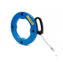 HBM 30 Meter Tension Spring / Cable Puller Steel in Reel with Locking