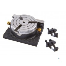 HBM 75 mm fast division table / indexing table with clamping set