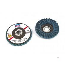 Dischi abrasivi a lamelle HBM e dischi abrasivi per smerigliatrice angolare fine