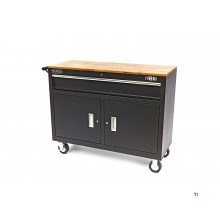 HBM 117 cm. professional mobile tool trolley / workbench