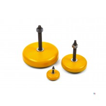 HBM leveling foot, vibration damper with thread