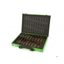 HBM 150-piece tin drill set