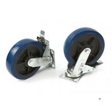 HBM Profi 200 mm. Dreiehjul med brems