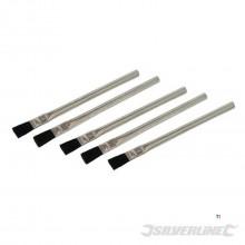 Løserflensebørster 15 mm. pakket per 5 stk