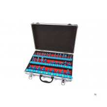 HBM 35-piece wood milling set