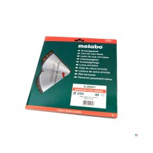 Metabo 254 x 2.4 x 30 mm Saw blade for wood