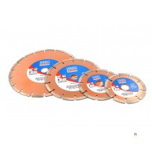 HBM diamond cutting discs open