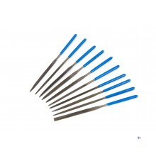Silverline 10-piece needle file set