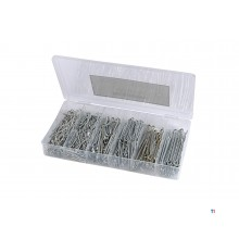 HBM 555 Piece Split Pins Assortment