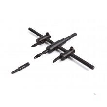 Ajustable cortador HBM Circle 30 a 120 mm.