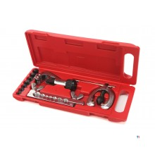 HBM brake line flaring set with pipe cutter, pipe cutter