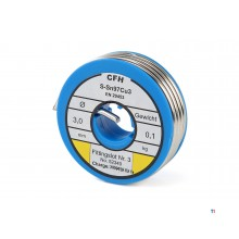 CFH fitting solder - wl 340 100 grams. / 3.0 mm.