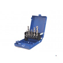 HBM professional 7-piece drill - tap set