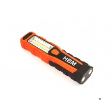 HBM professional rechargeable led flashlight 280 lumens model 1