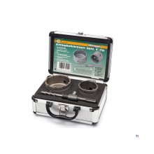 Mannesmann box drill set in aluminum case 44230