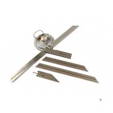 Dasqua Professional Analog Winkelmesser Set