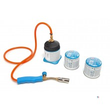 CFH gas soldering burner lm3000 including 2 gas canisters