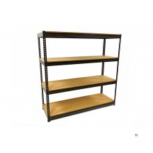 HBM professional shelf rack / garage rack 4 x 400 kg