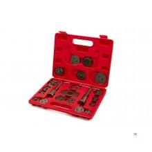 Kit de réinitialisation de piston de frein universel hbm, 21 pièces
