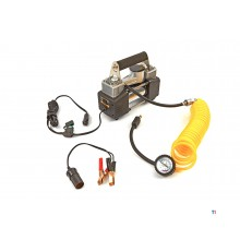 HBM 12 volt compressor with accessories in carrying case